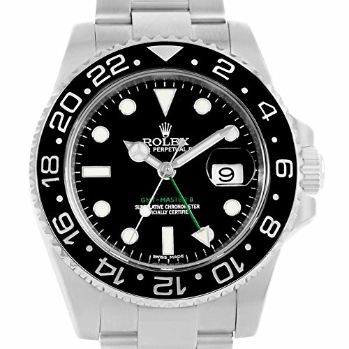 Rolex GMT Master II automatic-self-wind womens Watch 116710 (Certified Pre-owned) by Rolex