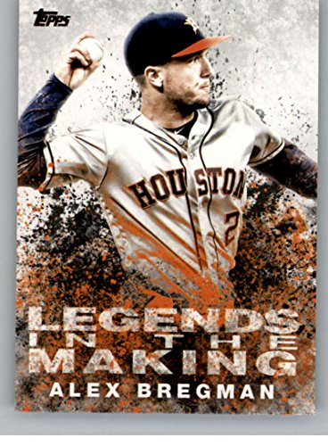 2018 Topps Legends in the Making #LITM-11 Alex Bregman Houston Astros Baseball Card