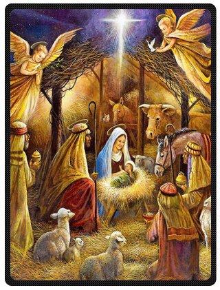 Znalezione obrazy dla zapytania christmas holy family
