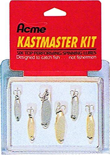 Best Acme Catch Fishing Lures - acme Kastmaster Tackle