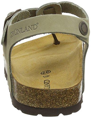 Grunland Kaki Sandals Women's Ankle kaki Strap Sara Beige 0B01qrw