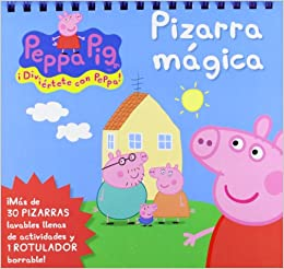 PIZARRA MAGICA PEPPA PIG: MEDIALIVE: 9788415553076: Amazon ...