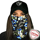 Face Shields for Women! SA CO Official Salt Armour Headbands | Multiple Styles to Choose From | Black Tropical