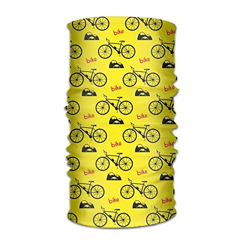 Bike Bicycle Headwear Bandanas Headscarf Helmet Liner Head Wrap Scarf by WOOD-RAIN