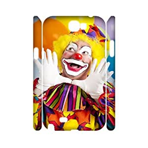 C-QUE Clown Customized Hard 3D Case For Samsung Galaxy Note 2 N7100