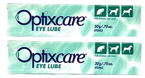 Aventix Pet Eye Lube Lubricant 20 Gram Two Pack