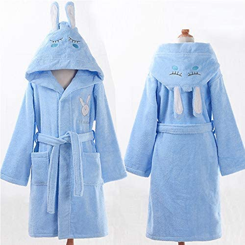 Lindas ropas de noche Albornoz infantil de algodón material de ...
