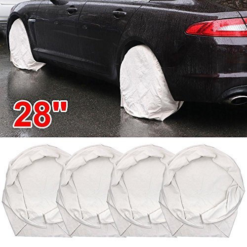 Yaheetech Heavy Duty Canvas Tire Wheel Covers Protection