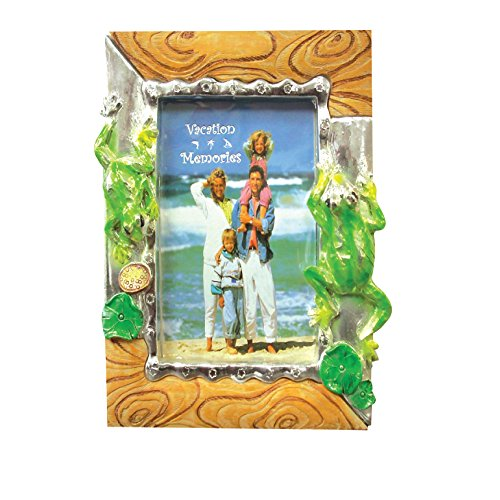 Frog Photo Frame (Picture Frame - Tropical Animals 8