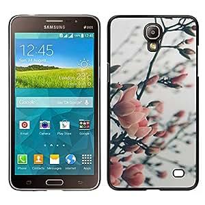 EJOY---Cubierta de la caja de protección para la piel dura ** Samsung Galaxy Mega 2 ** --Árbol floreciente Garden Park
