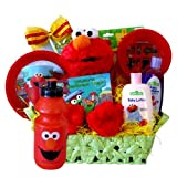 Elmo Presents Perfect Birthday Gift, Get Well Basket for Kids