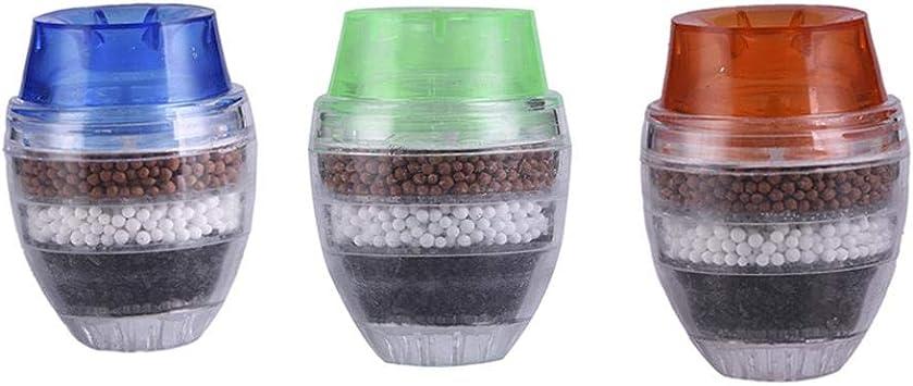 El filtro de agua del grifo reduce el flujo de cloro alto, purificador de ...