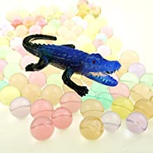 MS 6PCS Fun Soaked Crocodile Eggs Amaze Balls Water Beads