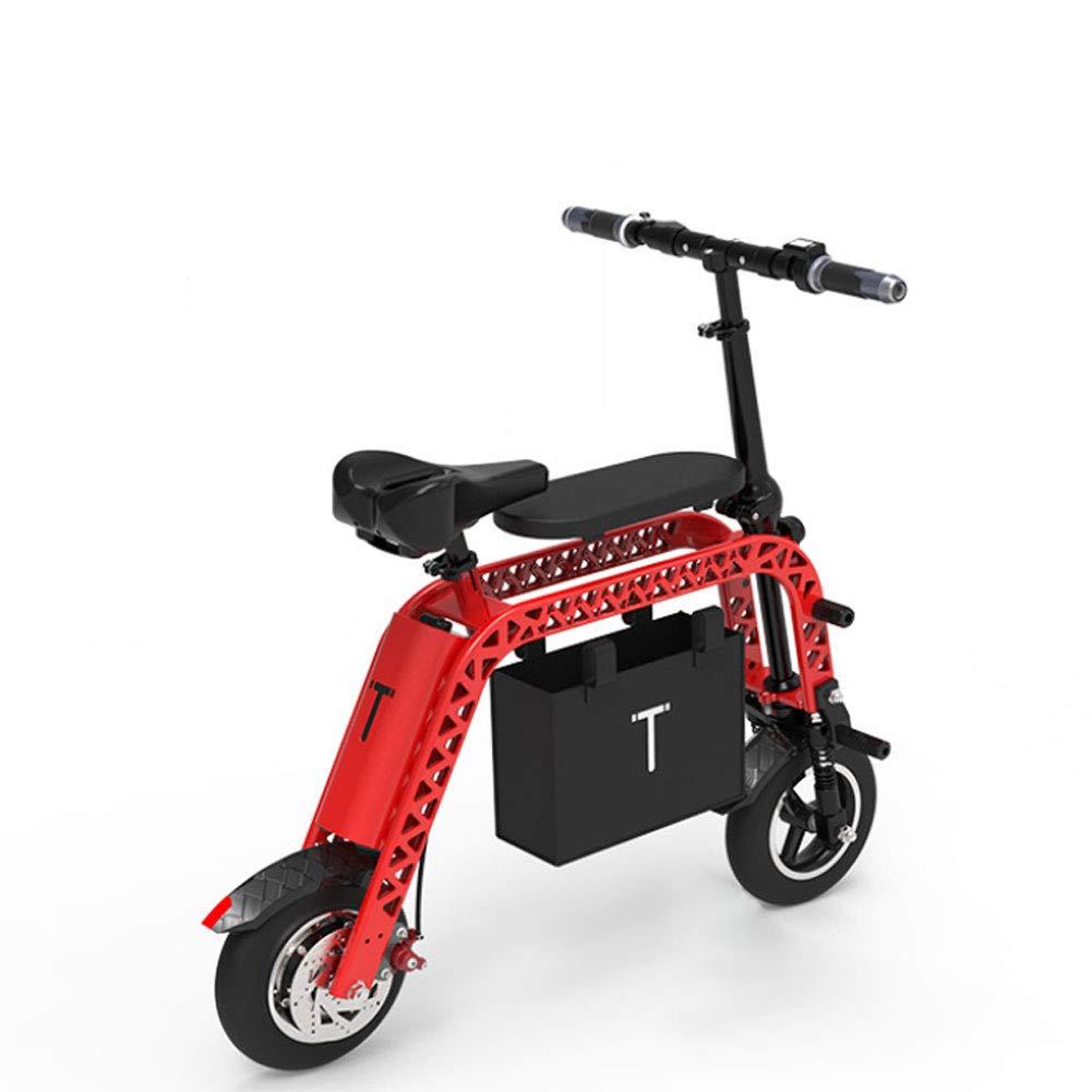 Mini klappbares Elektroauto für Erwachsene rot L
