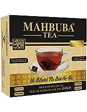Mahbuba STD 100 Gold Ceylon ( Seylan ) Siyah Sallama Bardak Poşet Çay 100x2gr