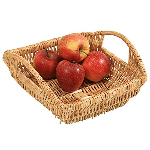 Kesper-cesta-para-pan-y-fruta-cesta-ganchillo-S-mimbre-tamao-270-x-290-x-190-mm