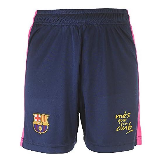 Fc Barcelone Maillot + Short Barca - Collection Officielle Taille Enfant garçon