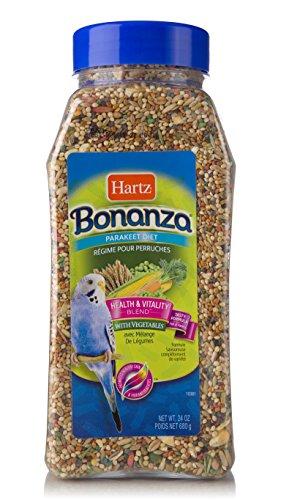 (Hartz Bonanza Health & Vitality Vegetable Blend Parakeet Food - 24Oz )