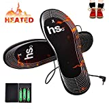 Heated Insoles Kamlif Battery Operated Winter Heated Shoes Insoles Cut-to-Fit Multiple Sizes for Man and Woman to Keep Foot Warm
