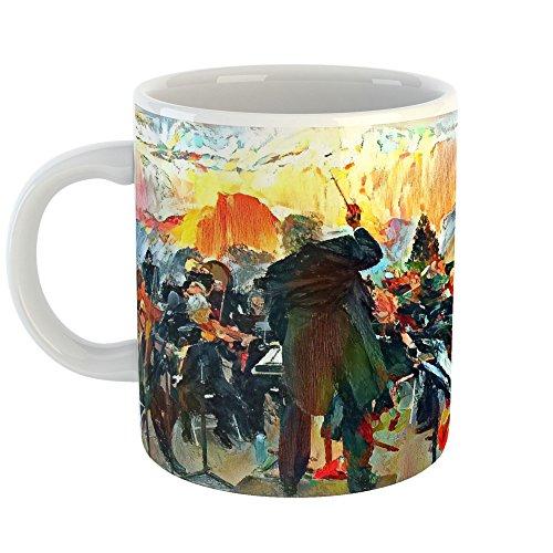 Westlake Art - Park Ian - 11oz Coffee Cup Mug - Abstract Artwork Home Office Birthday Christmas Gift - 11 Ounce (8206-C6F6D) ()