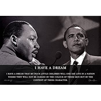 martin luther king i have a dream barack obama yes we can On august 28, 1963, clayborne carson was one of hundreds of thousands of  demonstrators at the march on washington he witnessed martin.