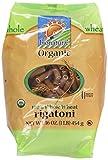 Bionaturae, Pasta, Whole Wheat, Rigatoni, Organic, 16 oz