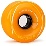 Cheap Landyachtz Hawgs Tracers Longboard Wheels – 67mm 78a Orange