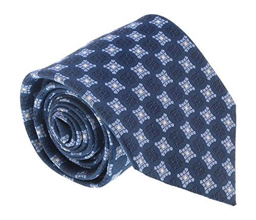 Ermenegildo Zegna Denim Blue Curved Square Tie for for sale  Delivered anywhere in USA