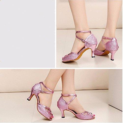 KAIRRY - Sandalias de vestir para mujer Rosa