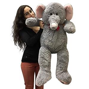 3 Foot Giant Stuffed Elephant 36 Inch Soft Big Plush Stuffed Animal - 517k0Z Y8lL - 3 Foot Giant Stuffed Elephant 36 Inch Soft Big Plush Stuffed Animal