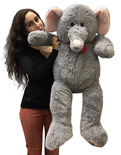 3 Foot Giant Stuffed Elephant 36 Inch Soft Big Plush Stuffed Animal - 517k0Z Y8lL - 3 Foot Giant Stuffed Elephant 36 Inch Soft Big Plush Stuffed Animal