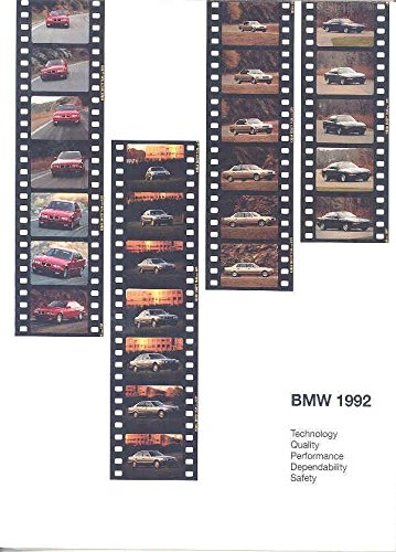 1992 Bmw 325is Coupe (1992 BMW 325is Coupe Brochure Poster 850i 735i 535i)