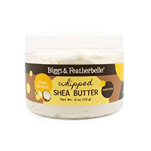 Biggs & Featherbelle Whipped Shea Butter Lemon Coconut