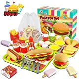 Fast Food Toys Play Food Toy Set,Kitchen Pretend