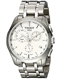Tissot Men's T035.439.11.031.00 Dial Couturier Silver Dial Watch