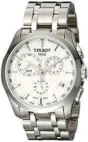 Tissot Men's T035.439.11.031.00 Silver Dial Couturier Watch