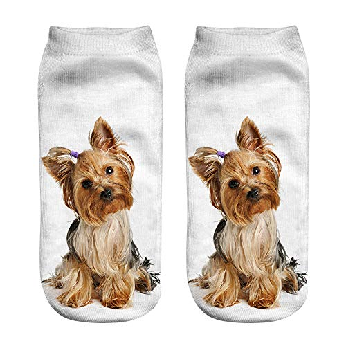 socks popular funny unisex short socks 3d