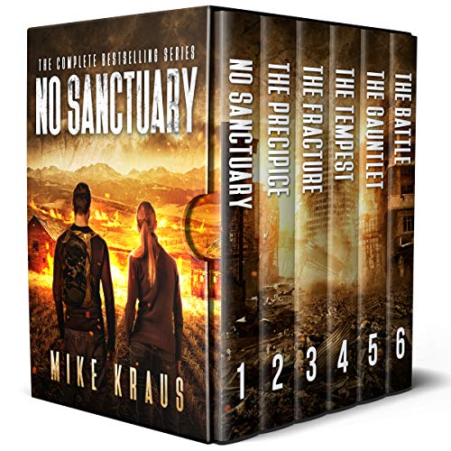 No Sanctuary Box Set: The Complete No Sanctuary Series - Books 1-6 by [Kraus, Mike]