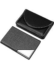 KH Professional Leather Business Card Holder Pocket Business Card Case for Men & Women Business Card Holders Wallet