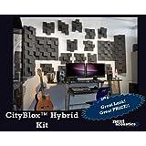 CityBlox Hybrid PRO Studio quality Foam 24 sf - charcoal