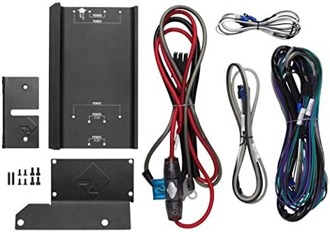 B00YIA5OJ0 Rockford Fosgate RFKHD9813 Amplifier Installation Kit w/ Mounting Plate for Select Harley-Davidson Motorcycles and compact Power & Punch Amplifiers 517k2oMC5tL.
