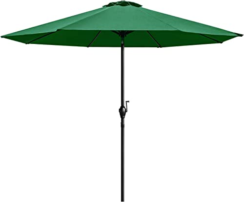 Homall 9 Ft Patio Umbrella Table Umbrella Outdoor Market straight Umbrella