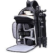 Camera Bag Waterproof Camera Sling Crossbody Bag Photo DSLR SLR Bag Case Compatible with Canon Nikon Sony Pentax…