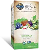 Cheap Garden of Life B Complex with Folate – mykind Organic Whole Food Supplement for Metabolism and Energy, 30 Tablets