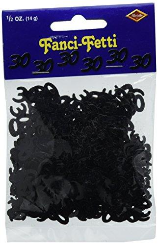 Fanci Fetti Silhouettes black Party Accessory
