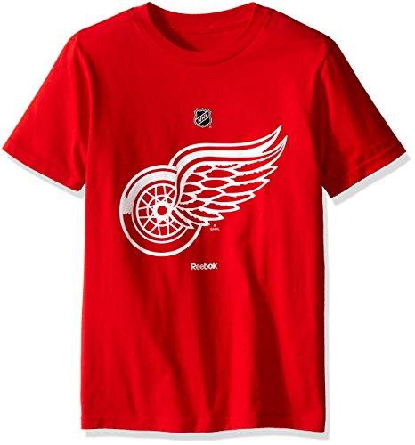 Reebok NHL Boys 8-20 Arched Standard Long Sleeve Tee