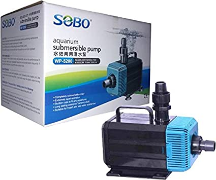 Buy Sobo Submersible Pump WP-5200   Max Flow Rate : 3500 L/H