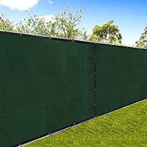 Amazon Com Amagabeli Fence Privacy Screen 6x50 For Chain