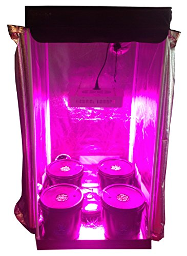 New Hydroponic Grow Room - Complete Grow Tent - 300w LED Grow Light with IR Hydroponic System 14