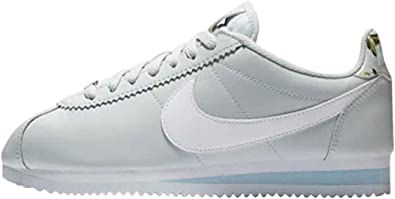 get online authentic available Amazon.com | Nike Women's Classic Cortez Trainers (11, Pure ...